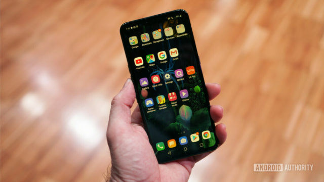 5Gに対応したAndroidスマートフォンLG V50