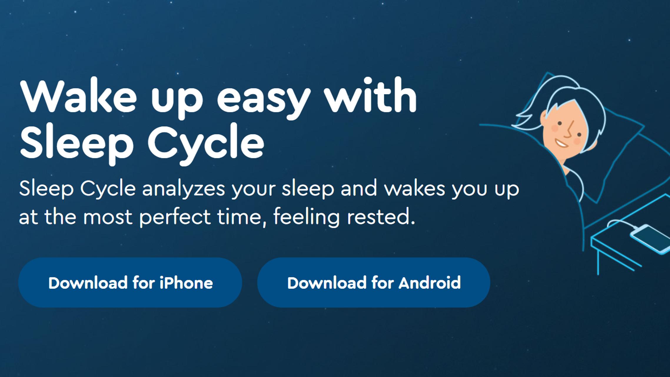 高機能な目覚ましアプリ「Sleep Cycle alarm clock」