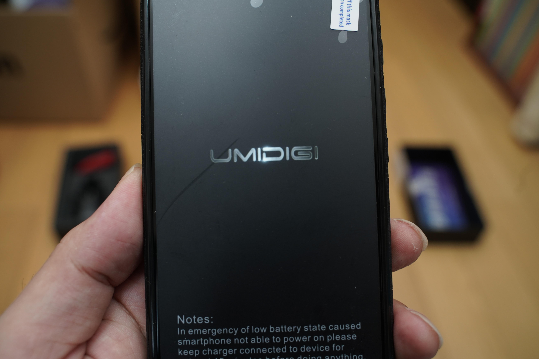 「UMIDIGI A3 Pro Update editon」起動画面