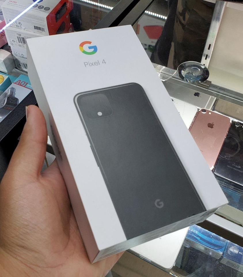Google Pixel 4の外箱(パッケージ)