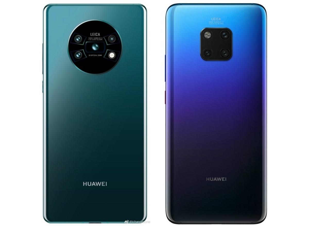 Huawei Mate 30 / Mate 30 Pro本体の外観(写真)