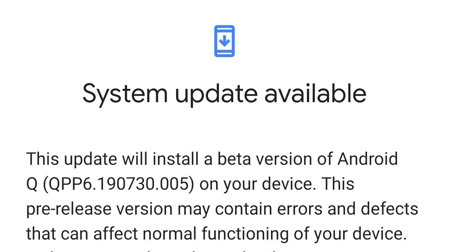【Android Q 10】ベータ版6(最終プレビュー)がリリース 変更・改善点等
