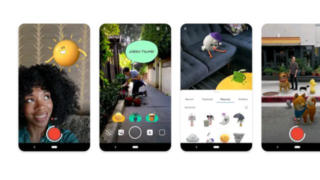 【Google Pixel 3】アップデートにより前面カメラでPlaymojiが利用可能に